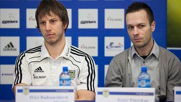 Milos Radosavljević (z lewej)