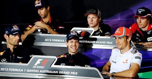 GP Australii, konferencja prasowa
