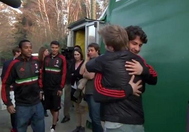 Michel Telo i AC Milan