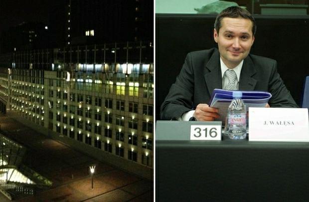 Jarosław Wałęsa wraca do pracy w Brukseli