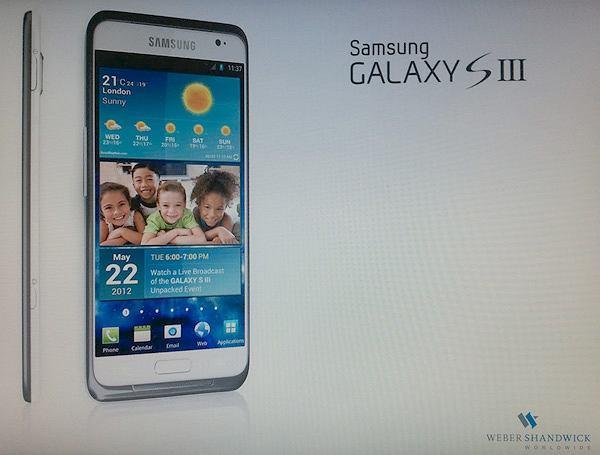 Samsung Galaxy SIII - czy tak wygląda?