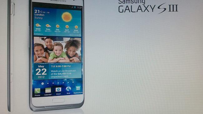 Samsung Galaxy S3 - większy ekran, rozdzielczość HD?