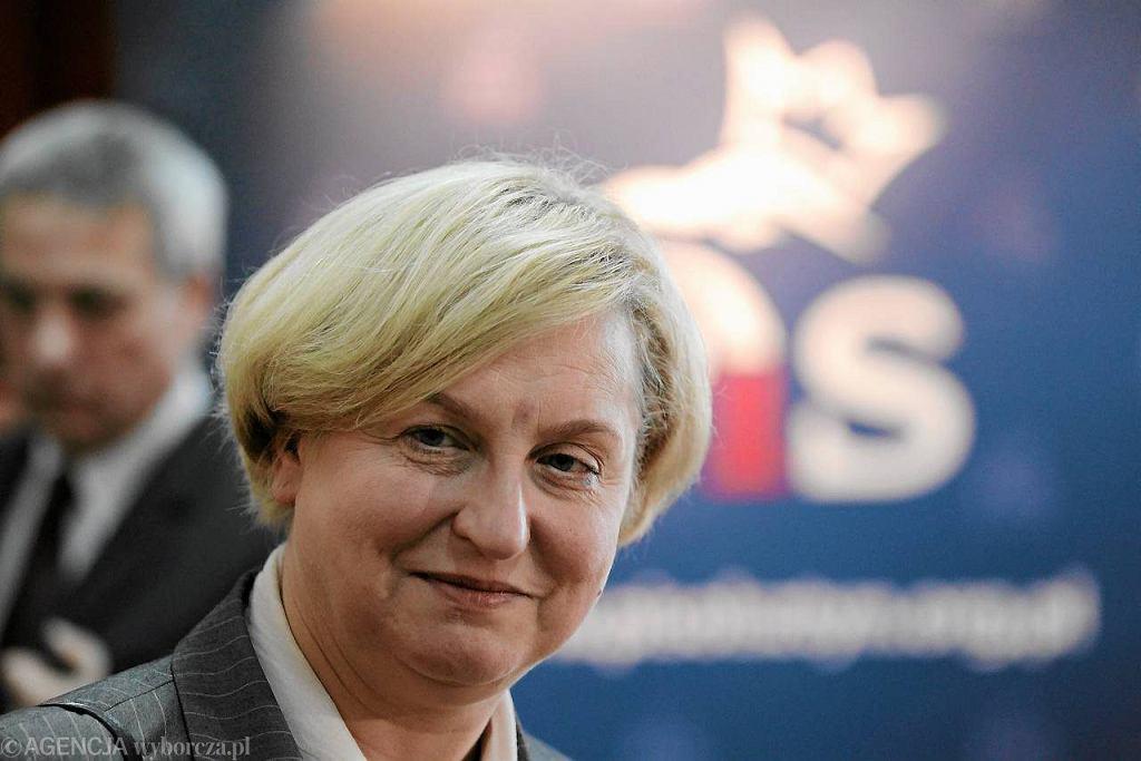 Anna Fotyga, była minister spraw zagranicznych