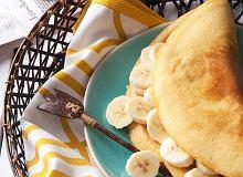 Omlet z bananem - ugotuj