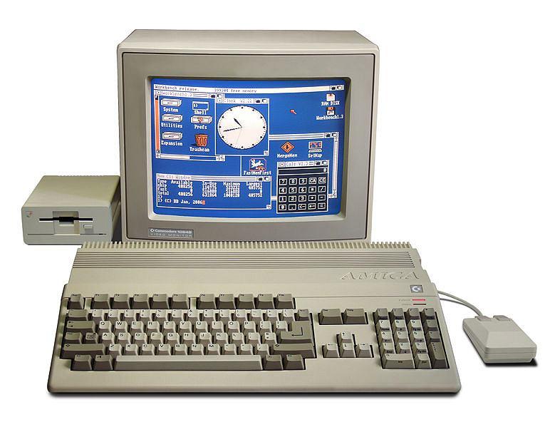 Amiga 500, fot. Bill Bertram, CC