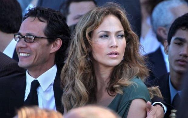 Jennifer Lopez i Mark Anthony.
