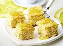 Ciasto migdałowo-cytynowe - ugotuj