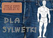 Jeansy dla muskularnych mężczyzn, moda męska, jeansy, spodnie