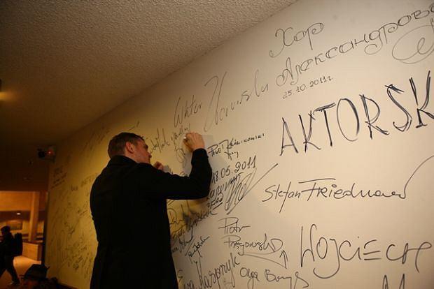 Michael Bublé złożył podpis na