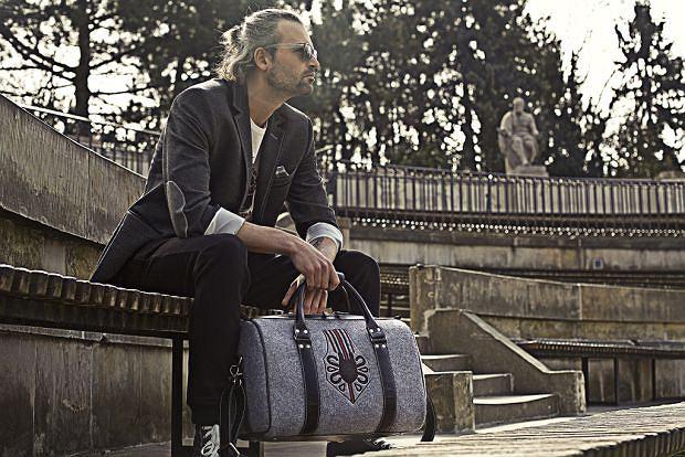 Męska torba i saszetka z kolekcji Goshico