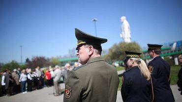 Uroczystości pod pomnikiem gen. Berlinga