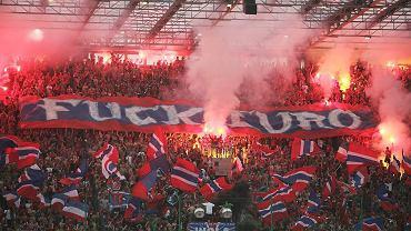 Kibice na meczu Wisła Kraków - Śląsk Wrocław