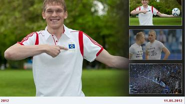 Artjom Rudniew, pardon, Artjoms Rudnevs już w barwach Hamburgerze SV