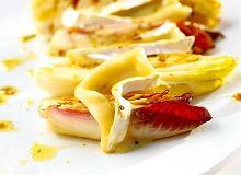 Cykoria z serem pleśniowym - ugotuj