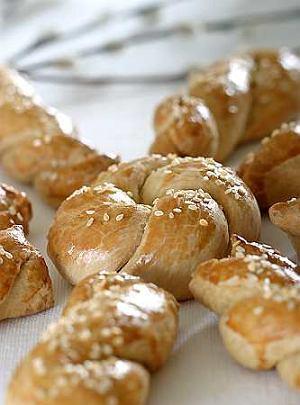 Koulourakia (ciastka greckie)