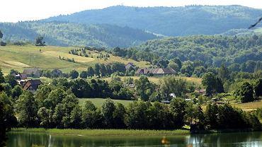 Szwajcaria Kaszubska, w głębi Wieżyca
