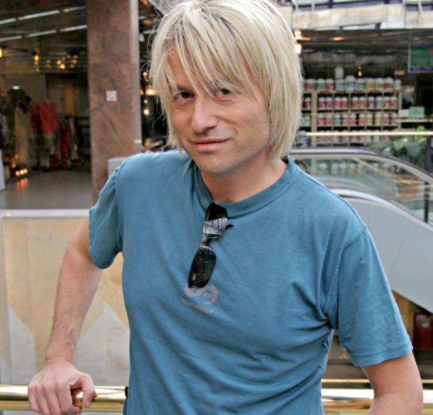 Piotr Rubik - kompozytor, muzyk i producent plyt.  W-wa 2007/06  fot.K.Zuczkowski / Forum