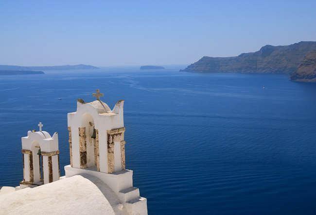 Santorini - piękne, spokojne i drogie