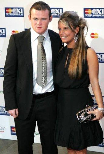 Wayne Rooney i Coleen McLoughlin Fot. KIRSTY WIGGLESWORTH AP