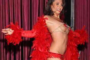 Miss Dakota na pokazie Victorias Secret