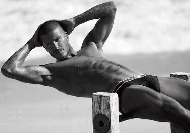 David Beckham dla Giorgio Armani