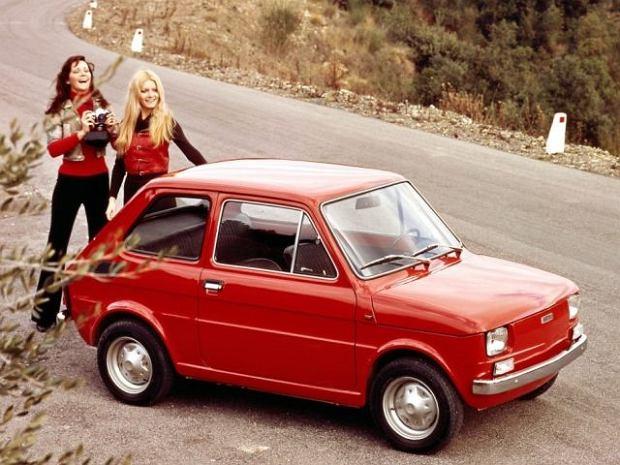 Fiat 126p - archiwalne materiały reklamowe