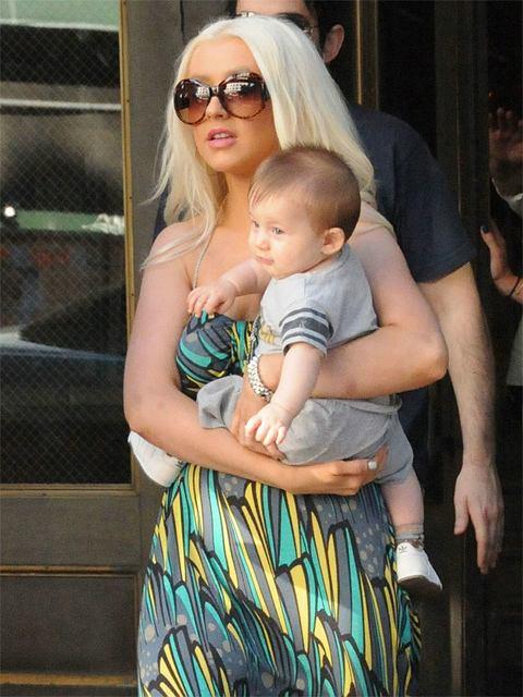 W styczniu 2008 Christina Aguilera urodziła synka MAxa.