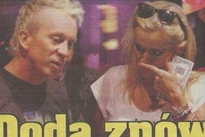 Doda i Tomek Lubert/Fakt 18.09.2008