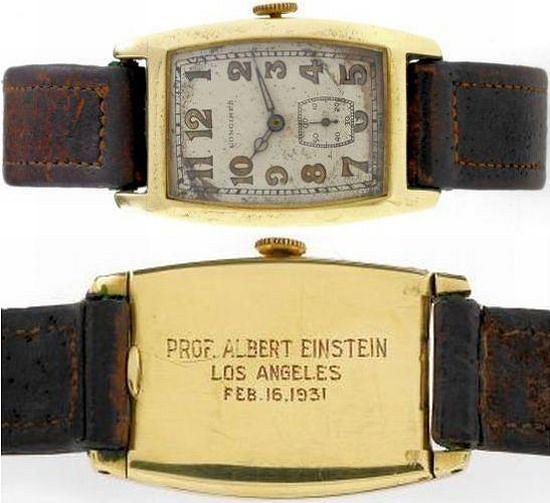 Zegarek Alberta Einsteina