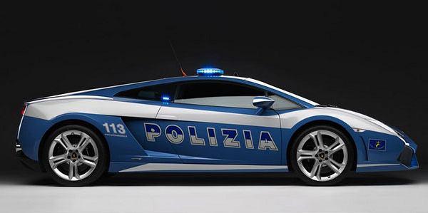 Lamborghini w służbie włoskiej policji