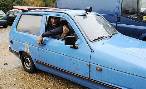 David James lubi stare auta