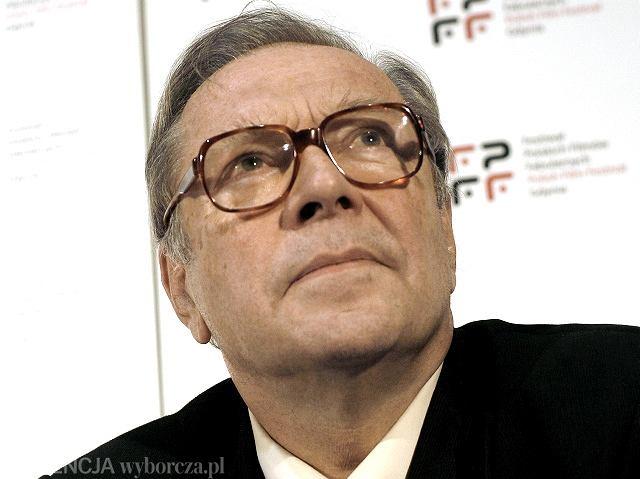 Krzysztof Zanussi, przewodniczący jury