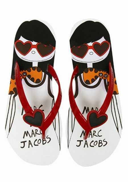 Klapki Marc by Marc Jacobs