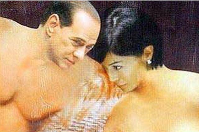 Silvio Berlusconi i Maria Carfagna
