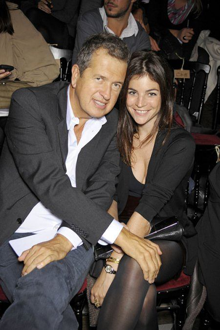 Mario Testino i Julia Restoin-Roitfeld (córka Carine Roitfeld)