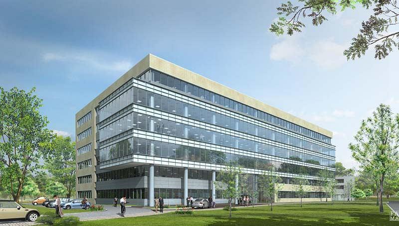 Wiśniowy Business Park - naprzeciwko niego powstanie nowy kompleks biurowców