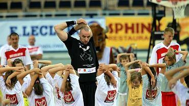 Marcin Gortat z dziećmi