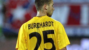 Filip Burkhardt i błąd ortograficzny na koszulce