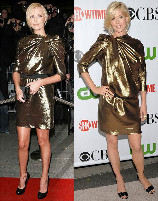Charlize Theron fot. East News Jenna Elfman fot. AP Photo