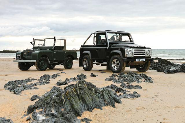 Land Rover Defender i Land Rover z 1948 roku