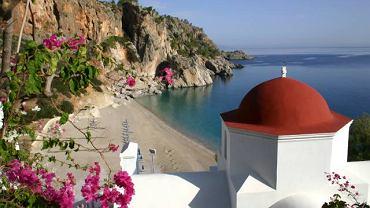 Miejscowość Kira Panagia na wyspie Karpathos