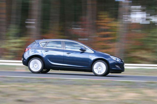 Opel Astra IV - pierwsza jazda
