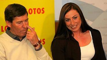 Aleksander Wierietelny i Justyna Kowalczyk