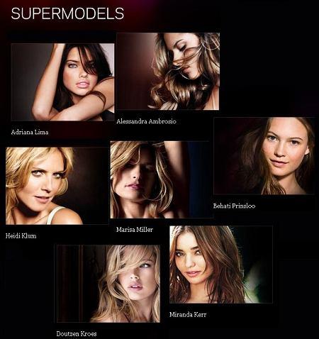 Victoria's Secret supermodels