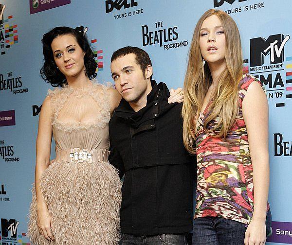 Katy Perry, Pete Wentz i Joss Stone