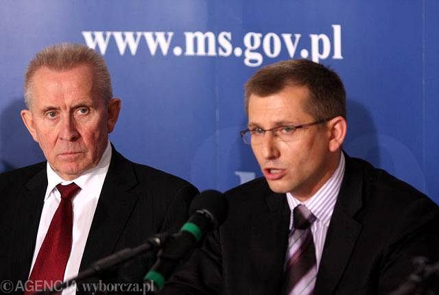 Andrzej Czuma i Krzysztof Kwiatkowski