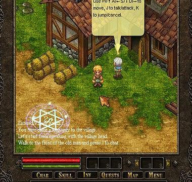 Bardzo fajna gra RPG!