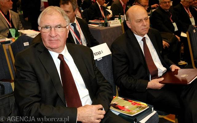 Antoni Piechniczek i Grzegorz Lato
