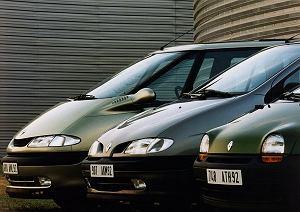 Renault Espace, Megane Scenic i Twingo