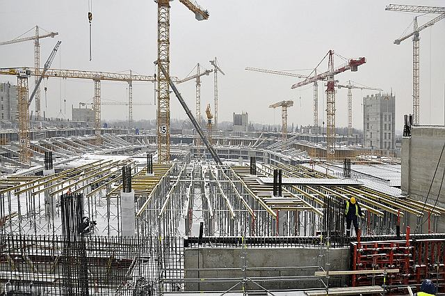 Budowa Stadionu Narodowego - 21 grudnia 2009